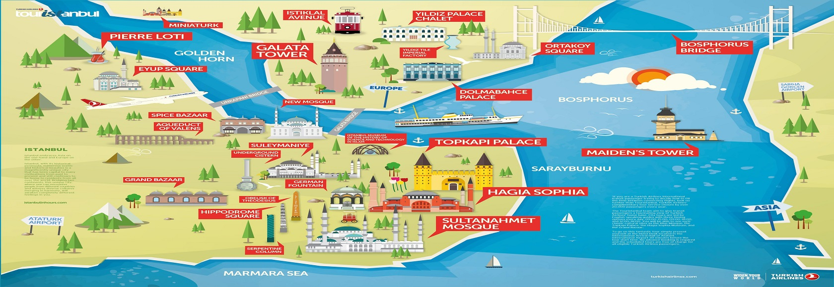 Istanbul-Tourist-Attractions-Map